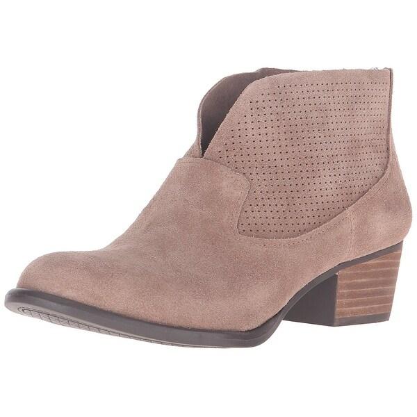 Jessica Simpson Womens Dacia Leather Closed Toe Ankle Fashion Boots