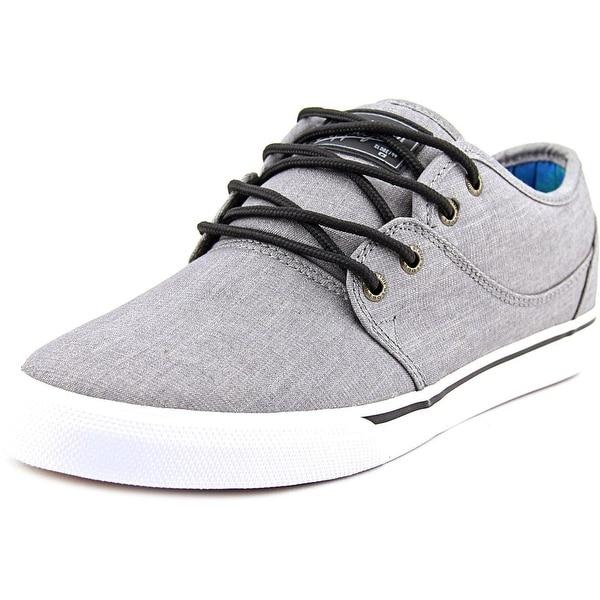 Globe Mahalo Men Round Toe Canvas Gray Skate Shoe