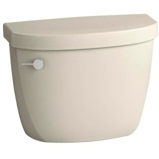 kohler k4421u cimarron 128 gpf toilet tank only with insuliner and aquapiston