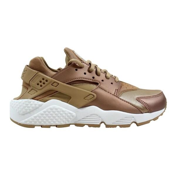 282153de62cd Nike Air Huarache Run SE Metallic Red Bronze Elm 859429-900 Women  x27