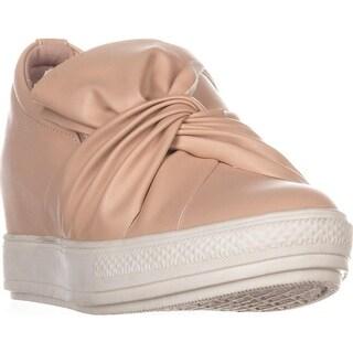 Wanted Swag Slip-On Wedge Sneakers, Nude