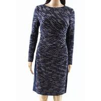Lauren by Ralph Lauren Womens Marled Sheath Dress