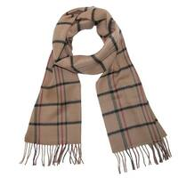 David & Young Soft Plaid Winter Scarf - One size