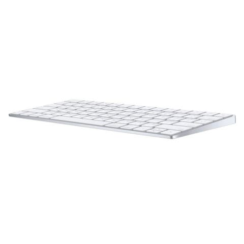 Apple Magic Keyboard Wireless Rechargable US English (MLA22LL/A) - Silver - White - 7.3 x 5 x 2