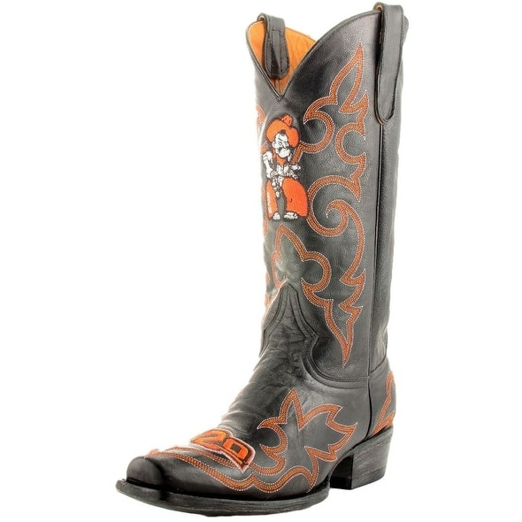 Gameday Boots Mens College Team Oklahoma State Black