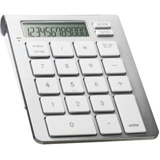 SMK-Link Electronics iCalc Bluetooth Calculator Keypad SMK-Link iCalc Bluetooth Calculator Keypad - Wireless Connectivity -