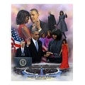 ''Faith in America's Future: 2013 Obama Inauguration'' by Wishum Gregory Celebrities Art Print (11 x 8.5 in.) - Thumbnail 0