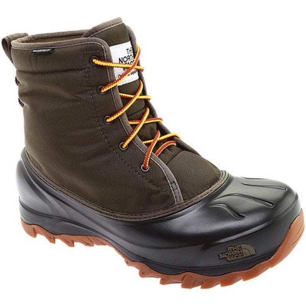 e5a18364b61 Shop The North Face Men's Tsumoru Waterproof Boot Tarmac Green/TNF ...
