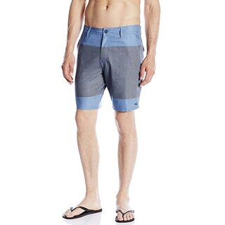 O'Neill Men's Townes Hybrid 36 Blue Boardshort Swim Trunks