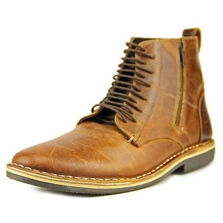 Steve Madden Harrisen Round Toe Leather Boot