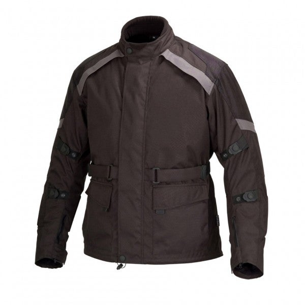 Men Motorcycle Cordura Race Classic Fit Jacket CE Protection Black MBJ058