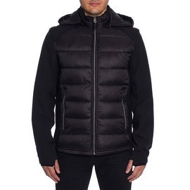 HFX Performance Zip Front Down Jacket with Hood