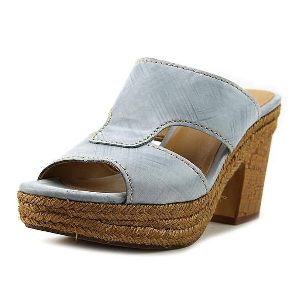 Naturalizer Evette Blue Sandals