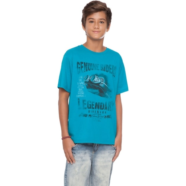 Tween Boy T-Shirt Graphic Tee Summer Top Kids Clothing Pulla Bulla 10-16 Years