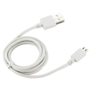 Reiko - Braided Data Cable for Micro USB 2.0 Devices for Android/Motorola/LG - W