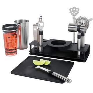 Link to Pro Shaker 10 Piece Bar Set Similar Items in Glasses & Barware