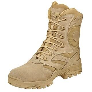 Thorogood Work Boots Mens Deuce Uniform Leather Lace Tan 813-3067