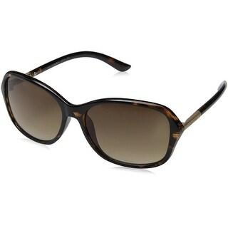 Women's Plastic Sunglasses - Tortoise
