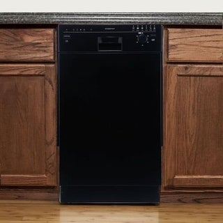 EdgeStar BIDW1801 18 Inch Wide 8 Place Setting Energy Star Rated Built-In Dishwasher