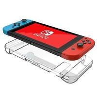 AGPtek Transparent Clear Hard Case and Joy Con Cases Shock-Absorption Cover for Nintendo Switch