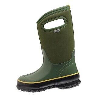 "Bogs Boots Girls Kids 10"" Classic Solid Waterproof Rubber"