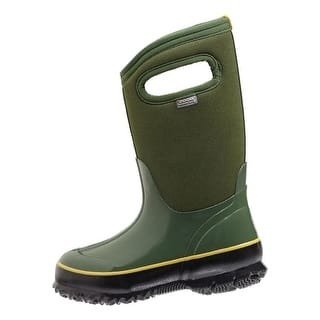 "Bogs Boots Girls Kids 10"" Classic Solid Waterproof Rubber 71442