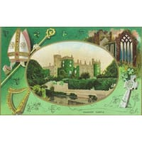 Kilkenny Castle Ireland St Patrick Day Vintage Art (Art Print - Multiple Sizes)
