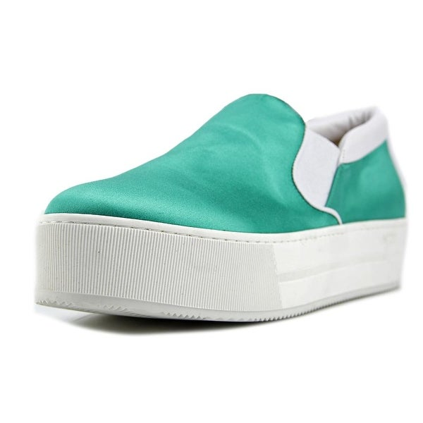 No.21 8730 Women Emerald White Flats