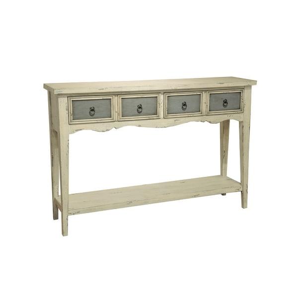 Shop Delacora Hm Ds 641102 12 Wide Hardwood Consolesofa Table