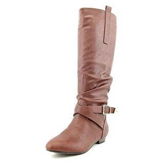 Material Girl Cooper Synthetic Knee High Boot