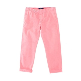 Polo Ralph Lauren NEW Hanover Pink Womens Size 2 Boyfriend Chinos Pants