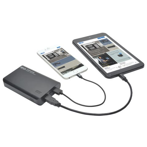 Tripp lite upb-10k0-2u dual port usb battery charger