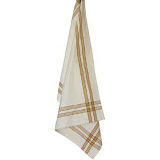 "Pumpkin Stripe - Cream Towel 20""X28"""