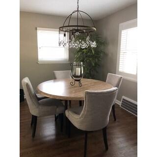 Safavieh En Vogue Dining Lester Grey Viscose Blend Dining Chairs (Set of 2)
