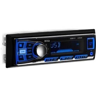 """""""Boss Audio 610UA Boss Audio 610UA Single-DIN MECH-LESS Receiver - In-dash - MP3, WMA - AM, FM - 12, 18 x AM, FM Preset - SD -"""