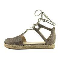 Stuart Weitzman Womens Walk My Way Round Toe Special Occasion Platform Sandals