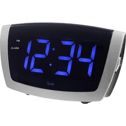 Lacrosse 75904 1.8 blue led alarm clock