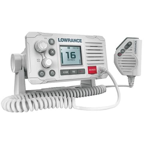 Lowrance Link-6 VHF Marine Radio - White Marine VHF Radios