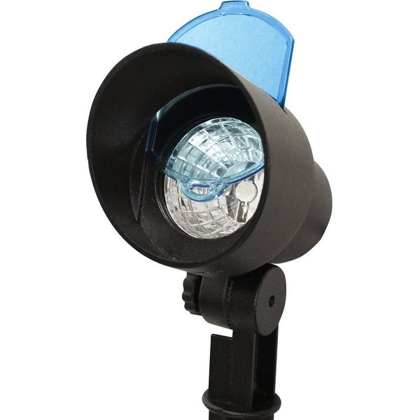 Gama Sonic 150001 (GS-150) Solar Powered LED Spotlight with Color Filters, Black