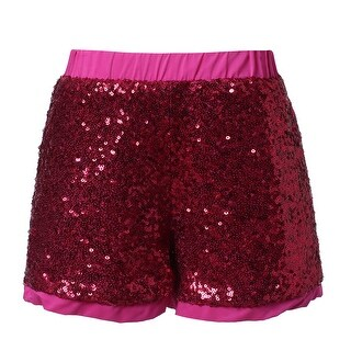 Richie House Girls' Short Pants with Sequins