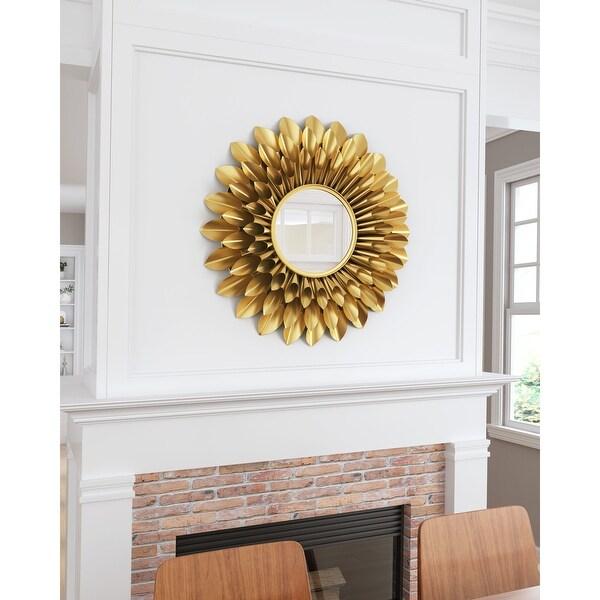 Sunflower Round Mirror Gold. Opens flyout.