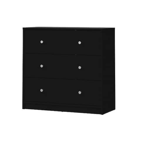 Porch & Den Zoe 3-drawer Engineer Wood Chest