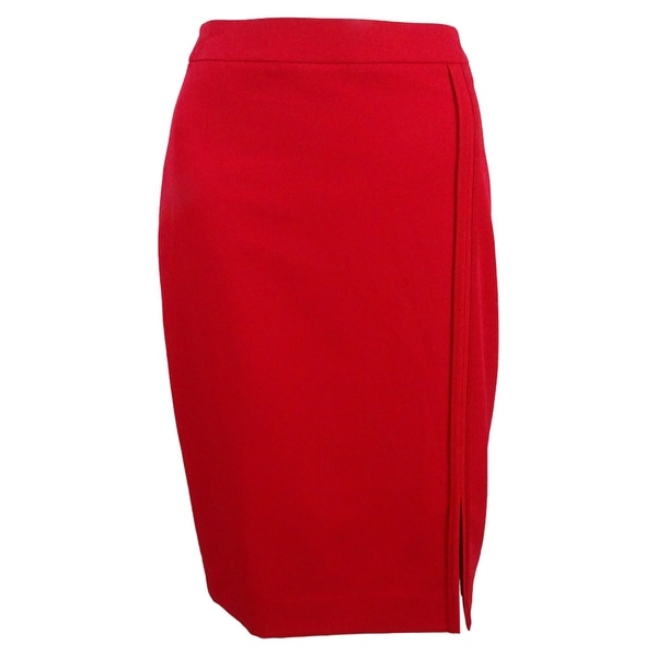 ee01ae2ad7 Shop Tommy Hilfiger Women's Pipe-Trim Pencil Skirt - On Sale - Free ...