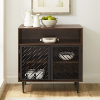 Link to Carson Carrington Modern Metal Door Accent Cabinet Similar Items in Living Room Furniture
