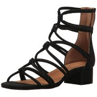 Corso Como Womens Jenkins NuBuck Open Toe Casual Strappy Sandals