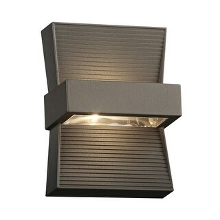 "PLC Lighting 2260 Fiona 2 Light 5"" Wide Integrated LED Landscape Accent Light"