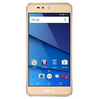 BLU Grand XL LTE G0030WW Unlocked GSM 4G LTE Dual-SIM Phone - Gold
