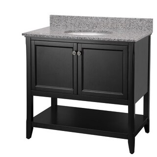 "Foremost AUBV3622 Auguste 36"" Single Vanity Cabinet Only - Less Vanity Top"