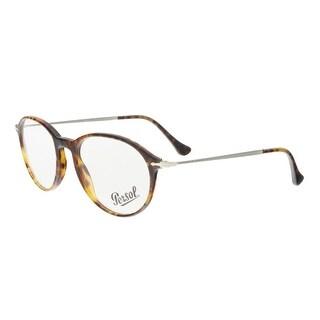 Persol PO3125V 108 Havana Round Optical Frames - 51-19-140