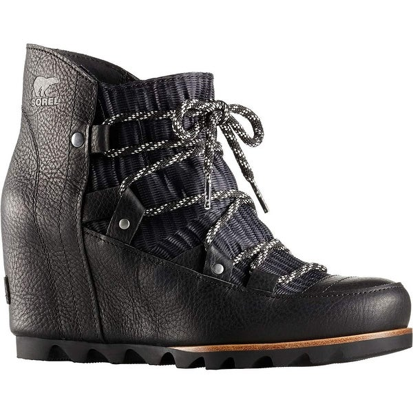 d55c77e4a Shop SOREL Women s Sandy Wedge Booties - 8.5 - Free Shipping Today -  Overstock - 22377981